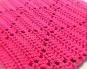 Crochet Afghan Pattern Rippling Diamonds