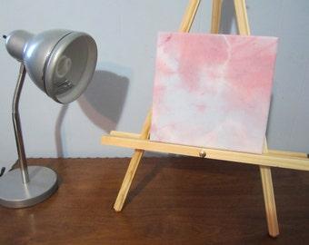Tie-dyed Wall Art, Pastel Nebula #5