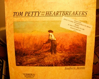 Tom Petty And The Heartbreakers Southern Accents 1984 PROMO copy and one copy not