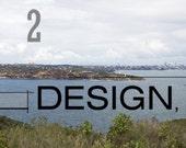 Canvas Photography - Sydney Skyline and Sydney Harbor, Original image, Gallery wrapped.