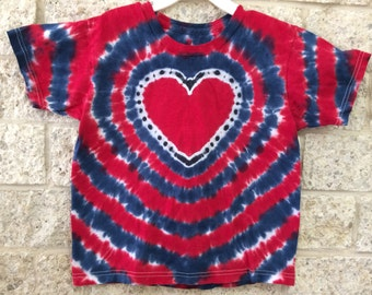 Tie Dye Heart, Child Small