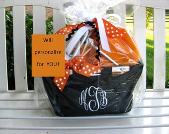 Custom Gift Basket- College Care Package for Boys, Girls--Baby, Brides or Business you name the occasion & your budget - I'll do the rest
