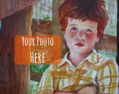 Custom Portrait from Your Family Photo