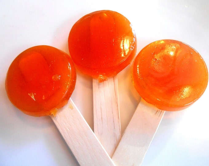 COUGH POPS for KIDS, Honey Lemon, Menthol Eucalyptus, Throat, Immune Support, Lollipop Lozenges, Sweet Relief, Get Well Gift