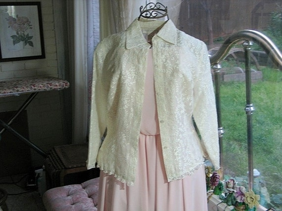 vintage doncaster silk blouse size 4 by artcpackrat on etsy