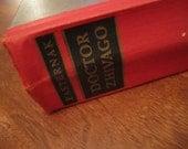 SALE Doctor Zhivago Hardcover 1958 English Translation Edition Boris Pasternak