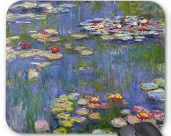Monet Water Lilies Mousepad