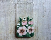Pink Floral iPhone 5/5s Case