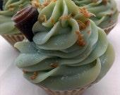 Mint Chocolate Cupcake Artisan Soap