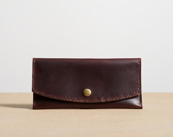 Brown Leather Women's Wallet