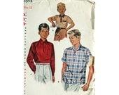 Boy's Shirt Vintage Pattern Simplicity 4543
