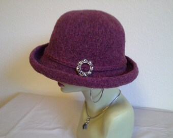 Hat, felted