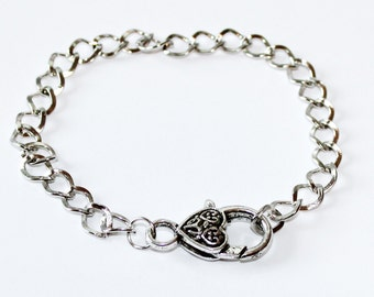 5 Link Chain Bracelet Base for Charms