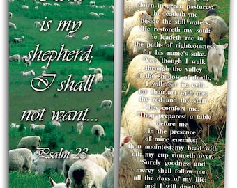 The Lord is My Shepherd - Pack of 25 Cards