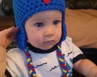 Crochet Superman Beanie/Hat