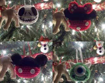 Crochet Christmas Ornament (set of 6)