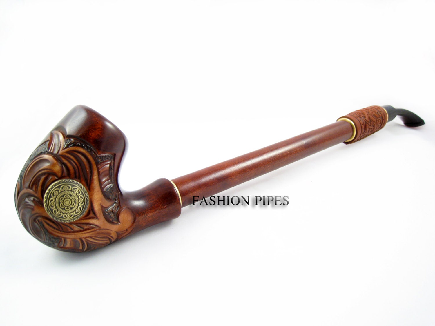 Churchwarden tobacco pipe nordic wooden smoking for What are old plumbing pipes made of