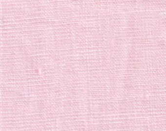 Light Pink Medium Weight Linen Fabric-15 yard bolt