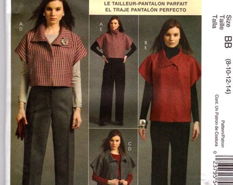 Palmer Pletsch Misses PANTSUIT WARDROBE PATTERN 2 Pcs. McCalls  m5941 Sz 8-14 or 16-22 Out Of Print Uncut Factory Folded