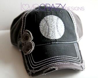 Glitter Baseball cap, Womens baseball hat,bling hat, Baseball mom