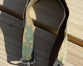US Marines Safety Lanyard, Woodland Camo  Print,  Military Safety Breakaway Lanyard, Made in the USA, Military Lanyard