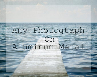 Metal Print, Aluminum Wall Art, Modern Home Decor, Ready to Hang Artwork, Nature Photography, Metal Photograph, Picture on Metal