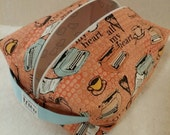 Valentine's Day Box Zipper Pouch