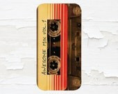 Guardians of the Galaxy Cell Phone Case - Mixtape - iPhone Case - iPod Touch 5 Case - Samsung Galaxy Case