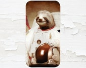 Astronaut Sloth Cell Phone Case - Funny Case - iPhone Case - iPod Touch 5 Case - Samsung Galaxy Case