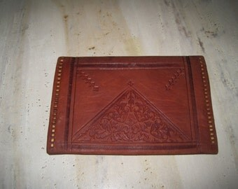 Leather Moroccan wallet
