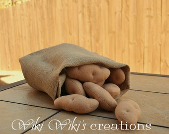 Felt Play Food Plush Potato