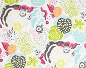 Art Gallery Fabric - Cherie - Decoupage Couleur - Frances Newcombe -Choose Your Cut 1/2 or Full Yard