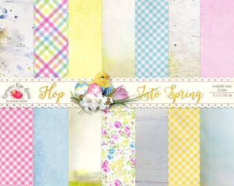 Hop Into Spring Paper Set