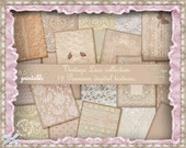 """Vintage LACE BACKGROUND Shabby Chic Printable Lace Paper Pack 8,5""""x11"""" for Web Blog Photographer Book Layout Invitation Scrapbooking p22"""