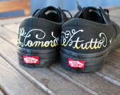 L ' amore é tutto - Love is Everything custom Vans shoes