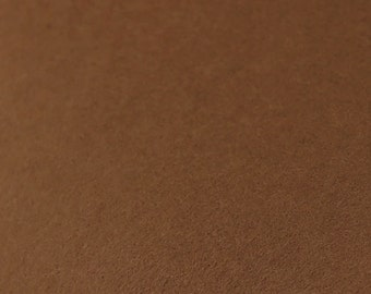 100% Wool Felt Sheet - 8x12 - GINGERBREAD