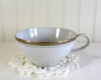 Vintage Porcelain China Cup, White Porcelain Cup