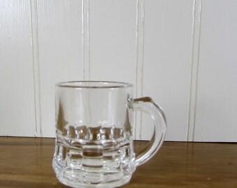 Vintage Miniature Glass Mug - Federal Glass