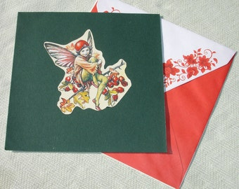 Magical Fairy Everything Marvelous Spiritual Greeting Card - Wiccan & Pagan Stationary - Handmade by Harmonee's Creations