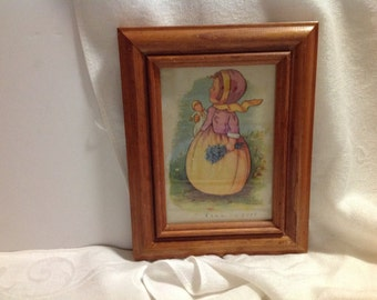 Framed Mary Lafetra Russell print