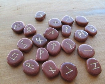 Goldstone Stone Rune Kit #9
