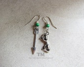 You Will Always Be My Girl – Arrow (Oliver, Felicity and Olicity) Inspired Earrings