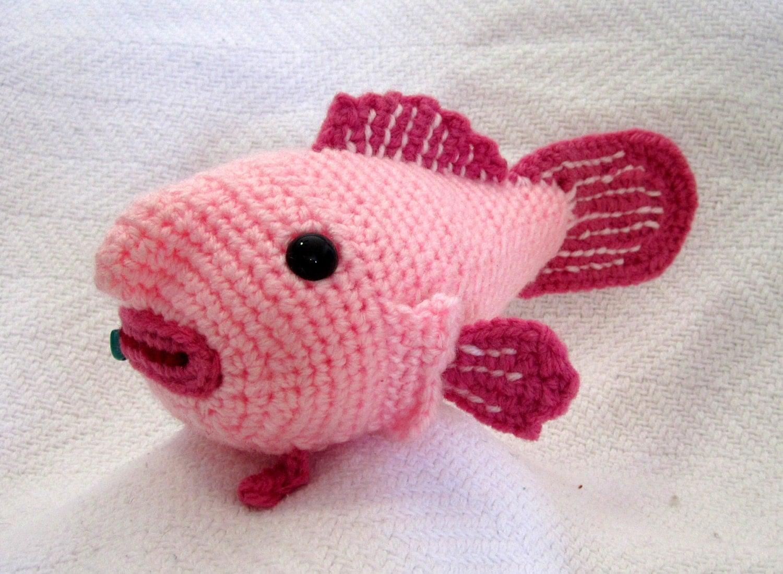 Small amigurumi blobfish made to order by SeaKnightsCraft ...