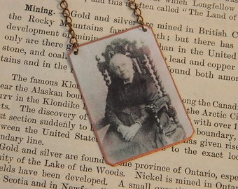 African American jewelry Harriet Ann Jacobs necklace mixed media jewelry