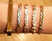 Mini Braided Friendship Chain bracelet