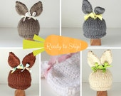Easter kids hat costume for Baby Bunny in newborn hat photo prop