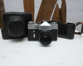 Zenit B Camera Industar 50-2 3,5/50 Lens Soviet USSR Photography