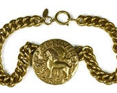 RESERVED - Vintage CHANEL Iconic Lion Necklace