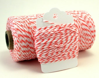 Coral Bakers Twine - Apricot Colored String - Coral Wedding Twine - Coral Divine Twine - Salmon Colored Twine - DIY Crafts - Tangerine Twine