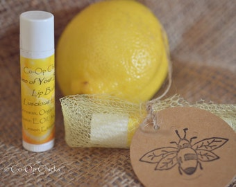 Some Of Your Beeswax Lip Balm Lemon